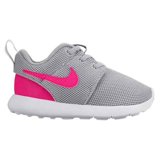 Nike Roshe One - Girls' Toddler - Casual - Shoes - Wolf Grey/Hyper Pink/Cool  Grey/White