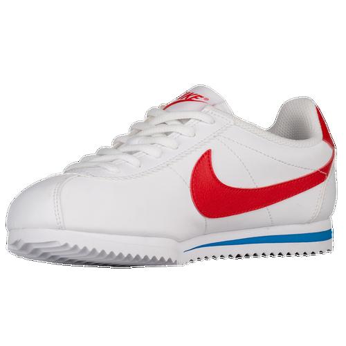 buy popular b2d2a 40d84 Nike Cortez - Boys Grade School - Casual - Shoes - WhiteChallenge RedSoar