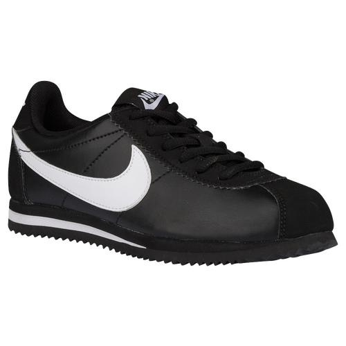 f3b46f60003d0 Nike Cortez 07 - Boys  Toddler - Running - Shoes - Black White Leather