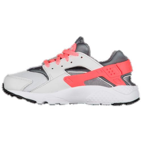 Nike Huarache Run - Girls' Preschool - Nike - Casual - Coral Stardust/Rust  Pink/Gum Light Brown | Cheetah Chic