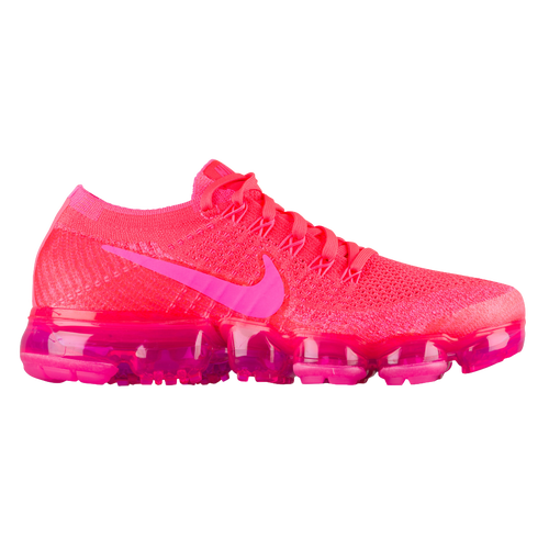 Nike Air VaporMax Flyknit - Women's - Running - Shoes - Hyper Punch/Pink  Blast/Hot Punch/Black