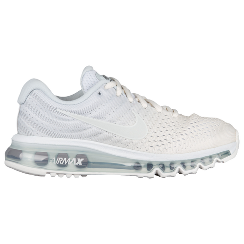 all white nike air max 2017 women's running