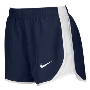 Nike Team Dry Tempo Shorts - Women's - Navy/White