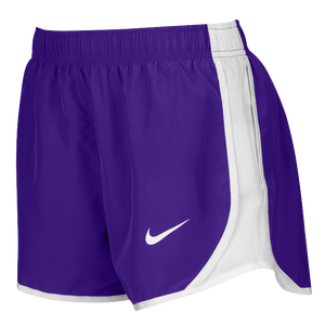 Nike Team Dry Tempo Shorts - Women's - Purple/White