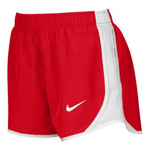 Nike Team Dry Tempo Shorts - Women's - Scarlet/White