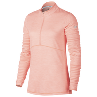 Nike Dri-Fit 1/2 Zip Golf Cover Up - Women's - Pink