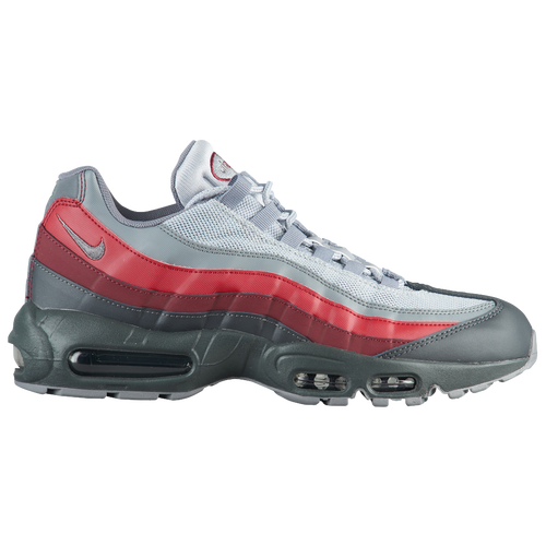 fa5260a5cc3 Nike Air Max 95 - Men s - Casual - Shoes - Anthracite Cool Grey Wolf  Grey Team Red
