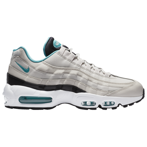 nike air max 95 mens casual shoes light bone sport turquoise black white