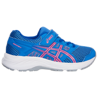 ASICS® PRE-Contend 5 - Girls' Preschool - Light Blue
