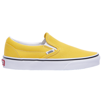 Vans Classic Slip On - Boys' Grade School - Yellow