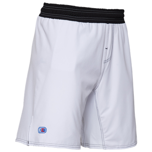 Cliff Keen Wrestling Board Shorts - Men's - White/Black