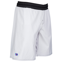 Cliff Keen Youth Wrestling Board Shorts - Boys' Grade School - White / Black