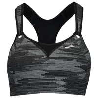 Brooks Rebound Racer Sport Bra - Women's - Black / Grey