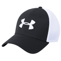 Under Armour TB Classic Mesh Golf Cap - Men's - Black / White