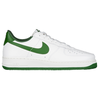 nike air force 1 green and white
