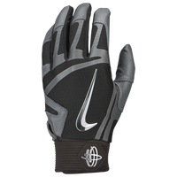 Nike Huarache Elite Batting Gloves - Men's - Black / Grey