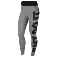 Nike JDI High Waisted Leggings - Women's - Grey