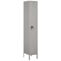 Salsbury Assembled Single Tier Extra Wide Locker - Grey / Grey