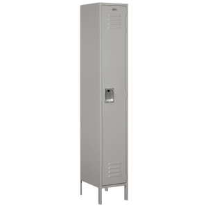 Salsbury Assembled Single Tier Extra Wide Locker - Gray