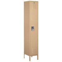 Salsbury Assembled Single Tier Extra Wide Locker - Tan / Tan