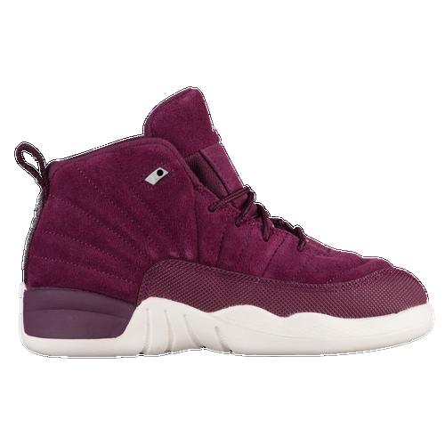 bc48dc49a Jordan Retro 12 - Boys  Preschool - Basketball - Shoes - Bordeaux ...