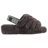 UGG Fluff Yeah Slides - Women's - Grey