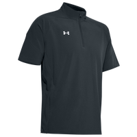 Under Armour Team Motivate Woven S/S 1/4 Zip - Men's - Grey