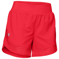 Under Armour Team Woven Training Short - Women's - Red