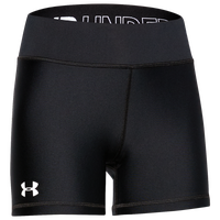 "Under Armour Team Shorty 4"" Short - Girls' Grade School - Black"