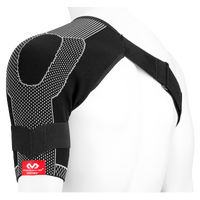 McDavid Shoulder Wrap/4-way Elastic - Black / White