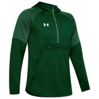 Under Armour Team Terry Fleece Anorak 1/2 Zip - Men's - Dark Green