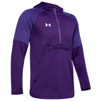 Under Armour Team Terry Fleece Anorak 1/2 Zip - Men's - Purple