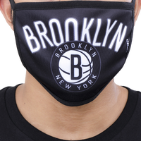 Pro Standard NBA Logo Face Mask - Brooklyn Nets - Navy