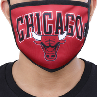 Pro Standard NBA Logo Face Mask - Red