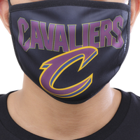 Pro Standard NBA Logo Face Mask - Navy