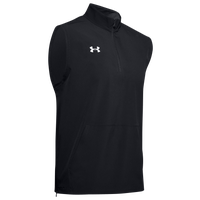 Under Armour Team Motivate Woven Sleeveless 1/4 Zip - Men's - Black