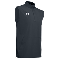 Under Armour Team Motivate Woven Sleeveless 1/4 Zip - Men's - Grey