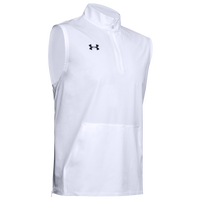 Under Armour Team Motivate Woven Sleeveless 1/4 Zip - Men's - White