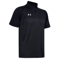 Under Armour Team Locker Short Sleeve 1/4 Zip - Men's - Black