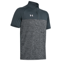 Under Armour Team Locker Short Sleeve 1/4 Zip - Men's - Grey