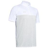 Under Armour Team Locker Short Sleeve 1/4 Zip - Men's - White