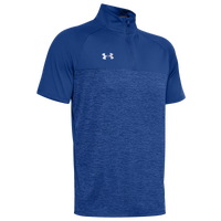 Under Armour Team Locker Short Sleeve 1/4 Zip - Men's - Blue