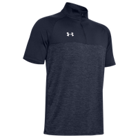 Under Armour Team Locker Short Sleeve 1/4 Zip - Men's - Navy