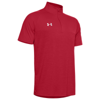 Under Armour Team Locker Short Sleeve 1/4 Zip - Men's - Red