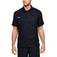 Under Armour Team Motivate Button Up - Men's - Black