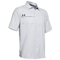 Under Armour Team Motivate Button Up - Men's - Grey