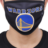 Pro Standard NBA Logo Face Mask - Black