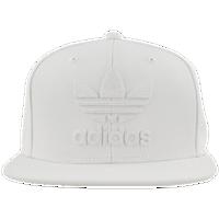 adidas Originals Trefoil Chain Snapback Cap - Men s - All White   White a31b2e940db
