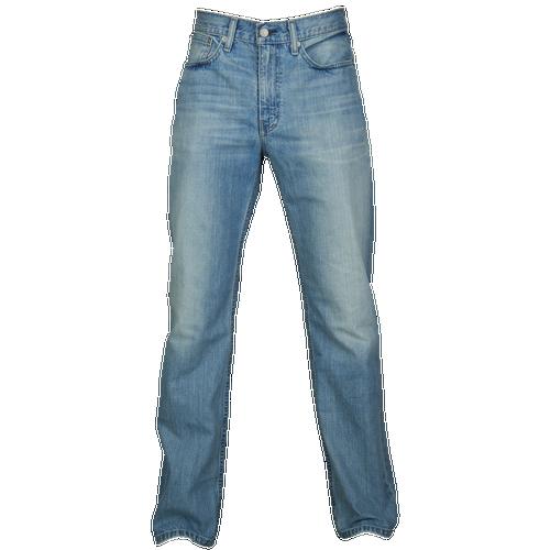 Levi's 514 Straight Fit Jeans - Men's - Casual - Clothing - White Bull Denim