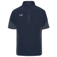 Under Armour Team Motivate Woven S/S 1/4 Zip - Boys' Grade School